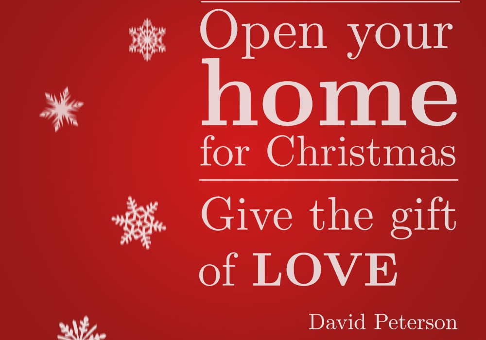 This holiday season, give the gift of love!