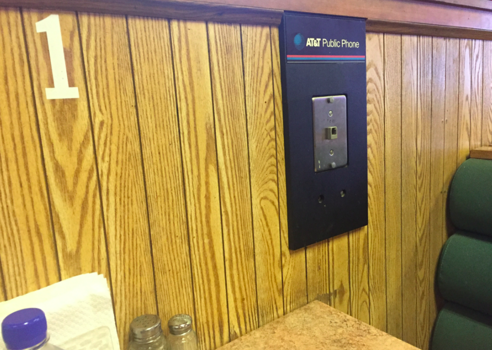A Restaurant Booth Whose Time Has Passed